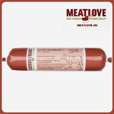 Marhamenü zöldpacallal, 200g, Meatlove