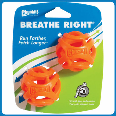CHUCKIT Breathe Right labda 2 db (S)