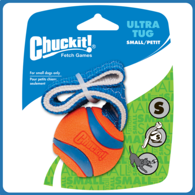 Chuckit Ultra Tug madzagos labda (S)