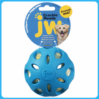 JW Crakle Heads Zörgő labda (M)