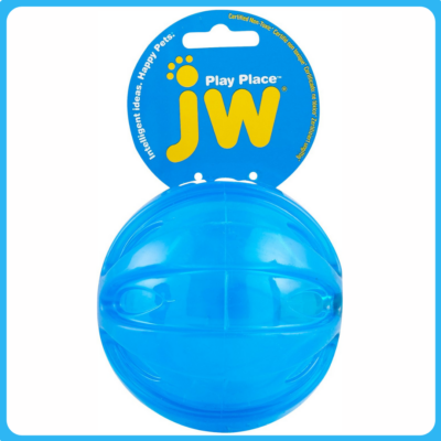 JW PET Play Place Squeaky labda (M)