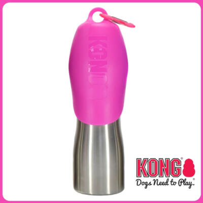 KONG kutyaitató palack 700 ml - Pink