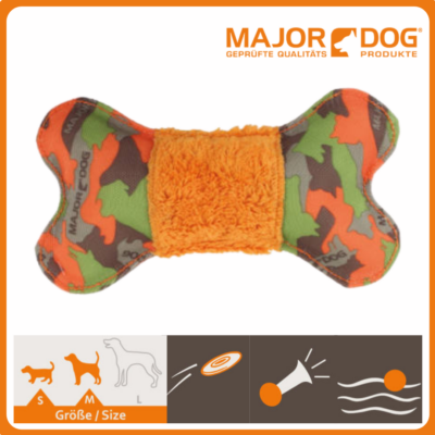 Major Dog - Bone with plush