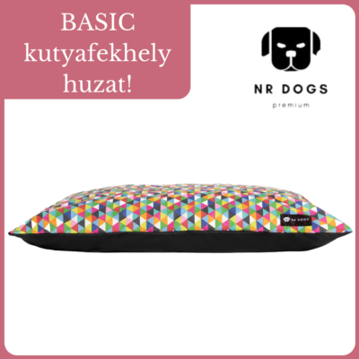 NR Dogs Basic kutyafekhely huzat - Fun Color