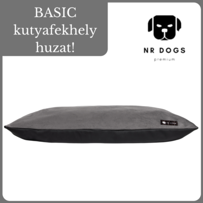 NR Dogs Basic kutyafekhely huzat - Soft Magic Grey
