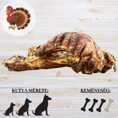 Szárított pulykanyak 250g - Pets Best
