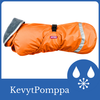 KevytPomppa kutyakabát - Orange hamarosan rendelhető