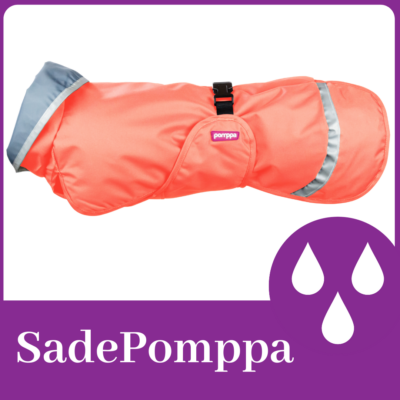 SadePomppa esőkabát - Papaya