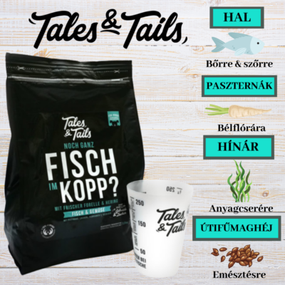 Tales & Tails szuper prémium kutyaeledel 1,5 kg