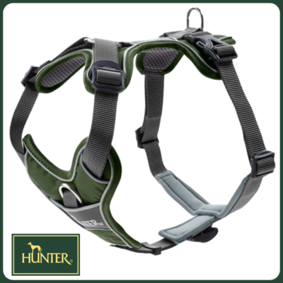 Hunter Divo hám - zöld/szürke