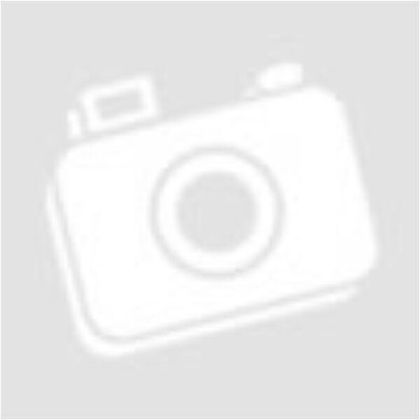 Vintage bőr póráz fekete fém karabínerrel mustársárga színben