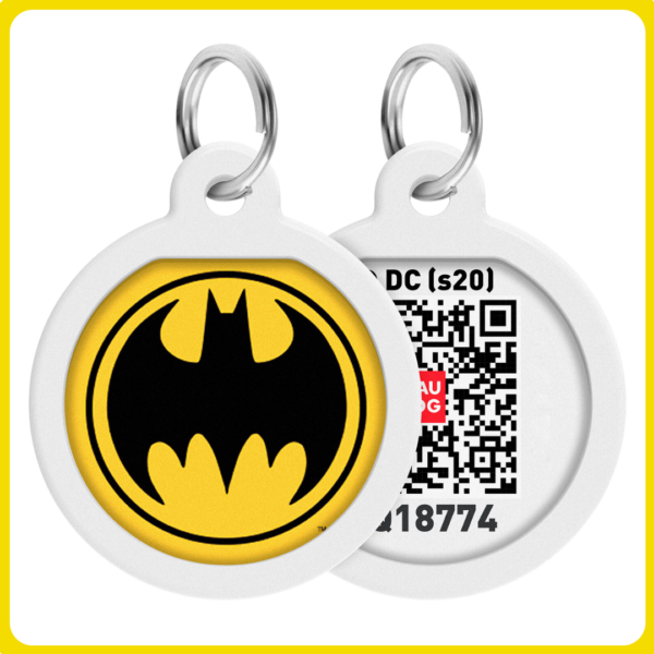Smart ID biléta nyakörvre - Batman